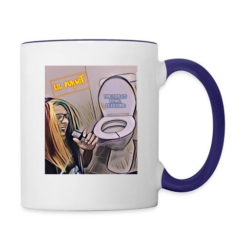Toilet bowel sessions - Contrast Coffee Mug