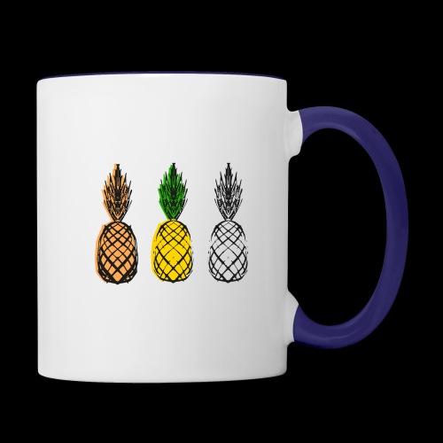 XTL Pineapple - Contrast Coffee Mug
