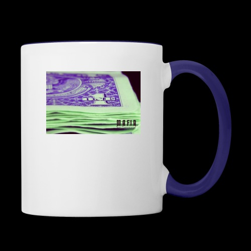 Another day another dollar MAFIA - Contrast Coffee Mug