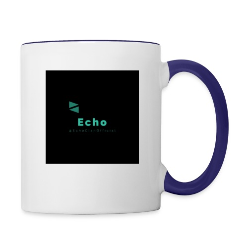 Echo Clan Offical Logo Merch - Contrast Coffee Mug