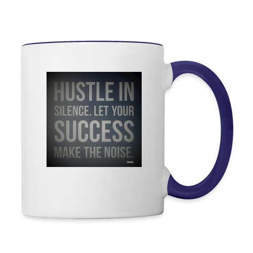 HUSTLE2 - Contrast Coffee Mug