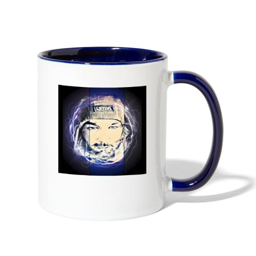 Electric circle - Contrast Coffee Mug
