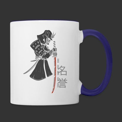 Samurai (Digital Print) - Contrast Coffee Mug