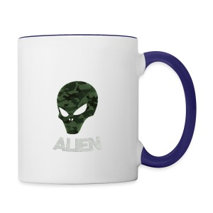 Military Alien - Contrast Coffee Mug