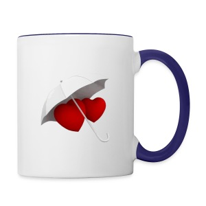 love valentin day - Contrast Coffee Mug