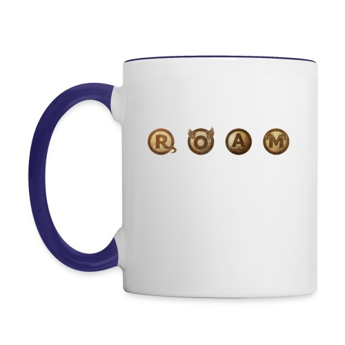 ROAM letters sepia - Contrast Coffee Mug