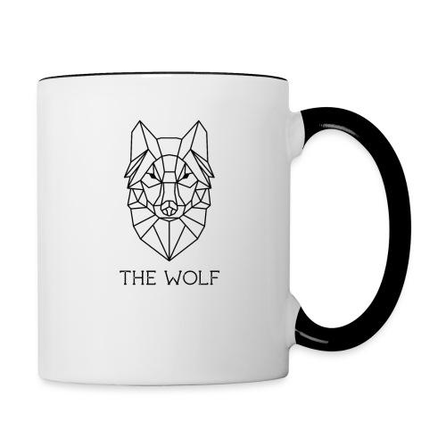 The Wolf - Contrast Coffee Mug