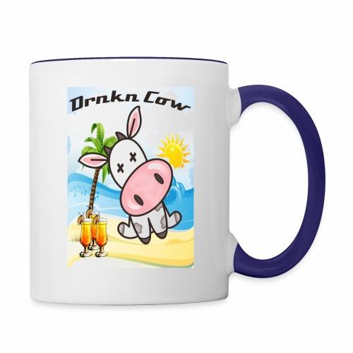 Drunken Cow Beach - Contrast Coffee Mug