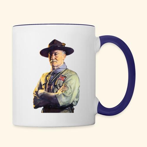 Robert Baden Powell - Contrast Coffee Mug