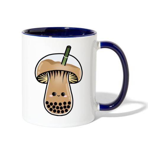 boba mushie (Moba) - Contrast Coffee Mug