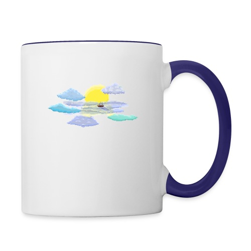 Sea of Clouds - Contrast Coffee Mug