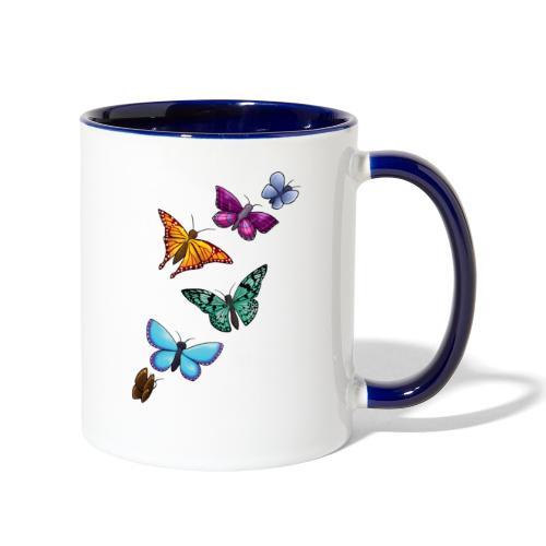 butterfly tattoo designs - Contrast Coffee Mug