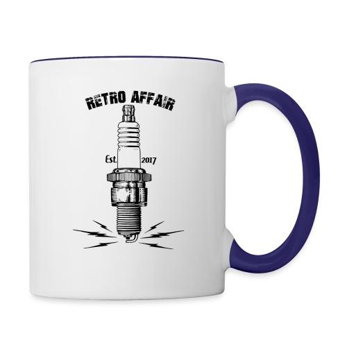 Retro Spark - Contrast Coffee Mug