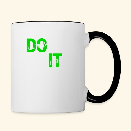 DON'T QUIT #4 - Contrast Coffee Mug
