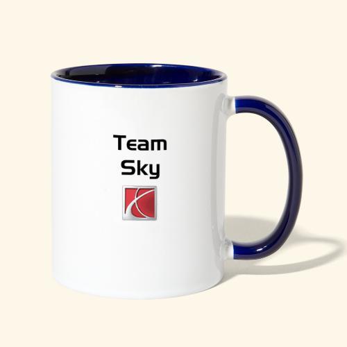 TeamSky - Contrast Coffee Mug