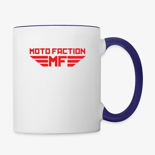 MotoFaction Logo - Contrast Coffee Mug