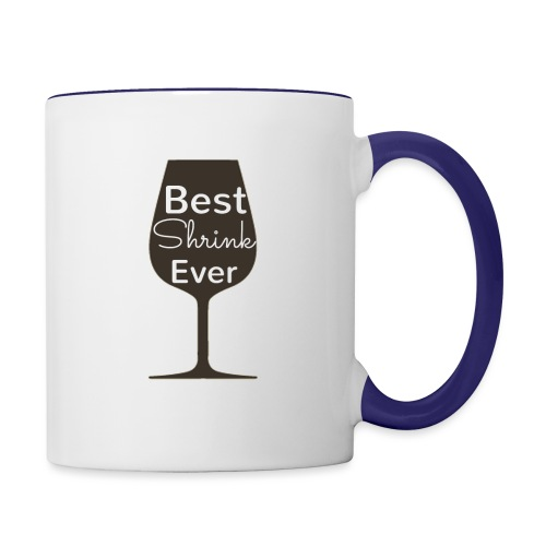 Alcohol Shrink Is The Best Shrink - Contrast Coffee Mug