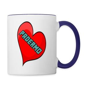 corazon padermo - Contrast Coffee Mug