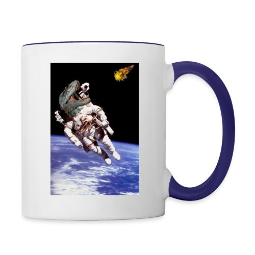 how dinos died - Contrast Coffee Mug