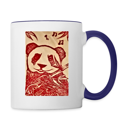 Pandas Song - Contrast Coffee Mug