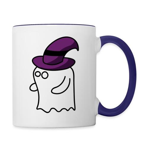 Little Ghost - Contrast Coffee Mug