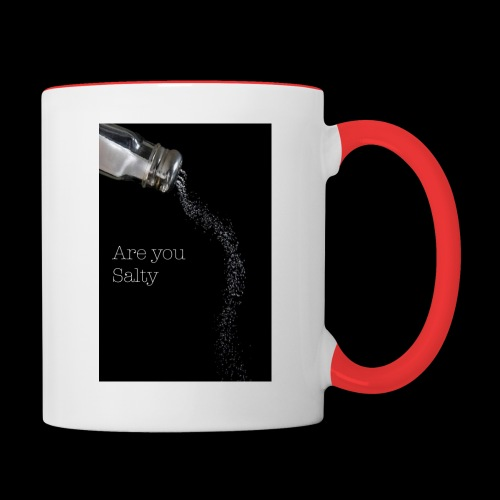 E1EC8123 AF44 4433 A6FE 5DD8FBC5CCFE Are you Salty - Contrast Coffee Mug
