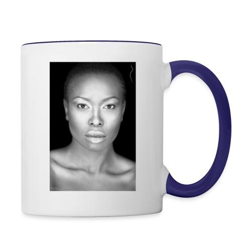 Brave : By Alüong Mangar - Contrast Coffee Mug