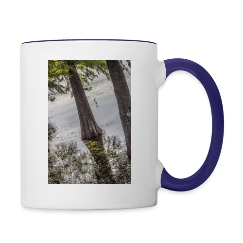 LAKE BIRD - Contrast Coffee Mug