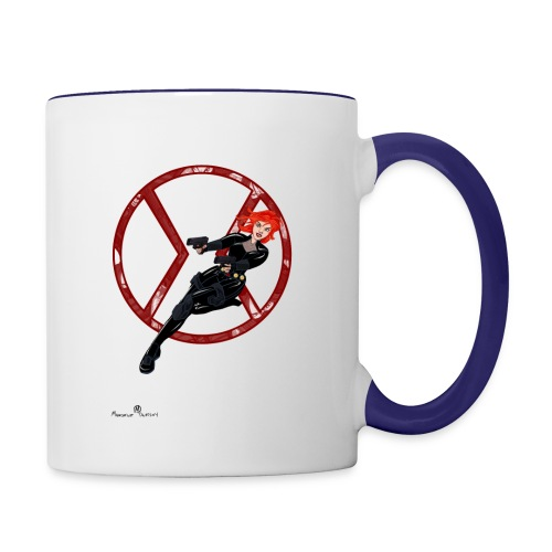 BULLETS AND BALLERINAS - Contrast Coffee Mug