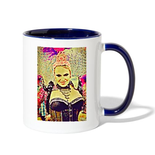 Lady in costume - Contrast Coffee Mug