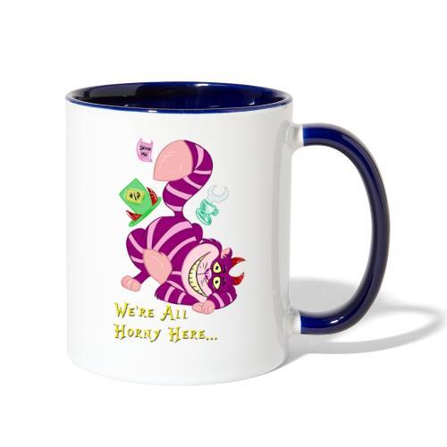 Cheshire Cat - Contrast Coffee Mug