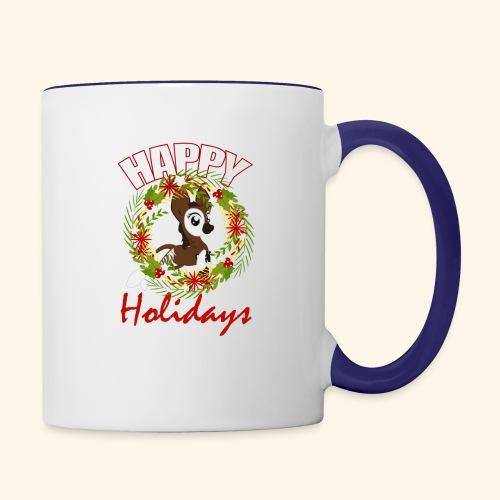 OKAPI HOLIDAY - Contrast Coffee Mug