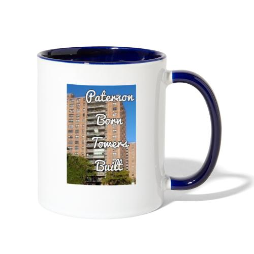 Paterson Born Towers Built - Contrast Coffee Mug