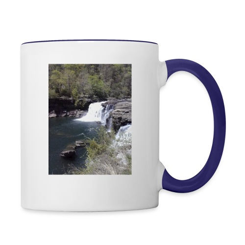 LRC waterfall - Contrast Coffee Mug
