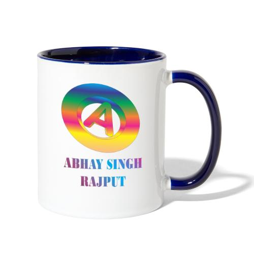 abhay - Contrast Coffee Mug