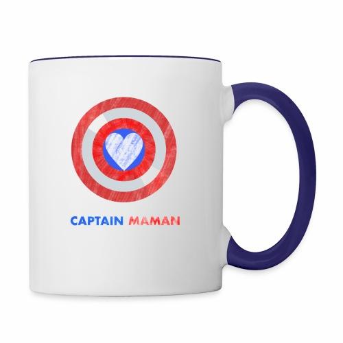 CAPTAIN MAMAN - Contrast Coffee Mug