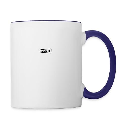 Live It V1 - Contrast Coffee Mug