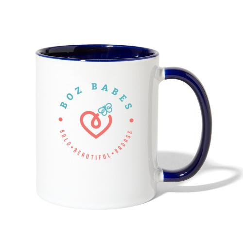 BozBabes - Contrast Coffee Mug