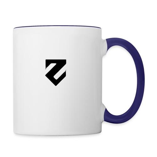 hehe png - Contrast Coffee Mug