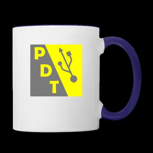 PDT Logo - Contrast Coffee Mug