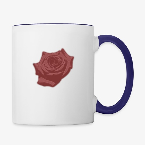 Down Rose Modern - Contrast Coffee Mug