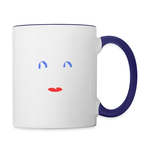 im happy - Contrast Coffee Mug