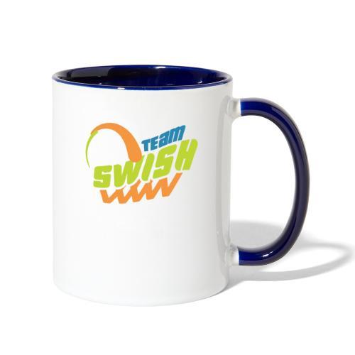 TeamSwish logo2 20 - Contrast Coffee Mug