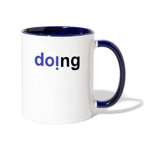 doi.ng - Contrast Coffee Mug