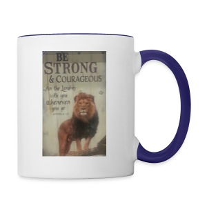 lion updates picture - Contrast Coffee Mug