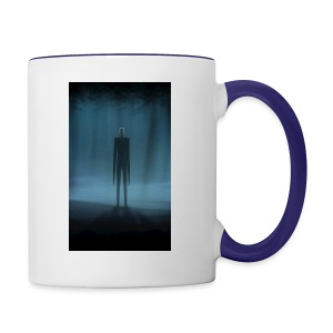 Creepy Forest Person - Contrast Coffee Mug