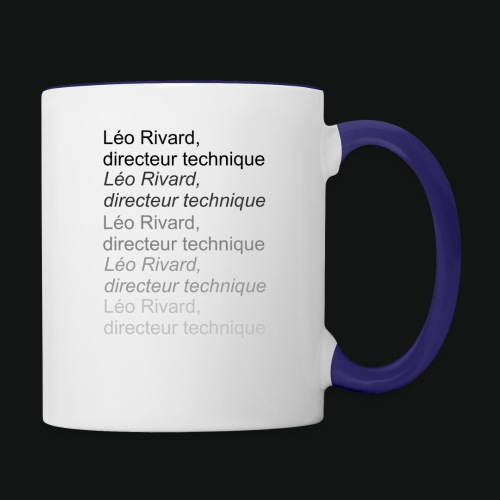 LEO TECHNICAL Rivard - Contrast Coffee Mug