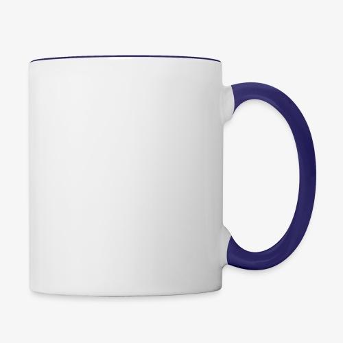 dragon sil - Contrast Coffee Mug