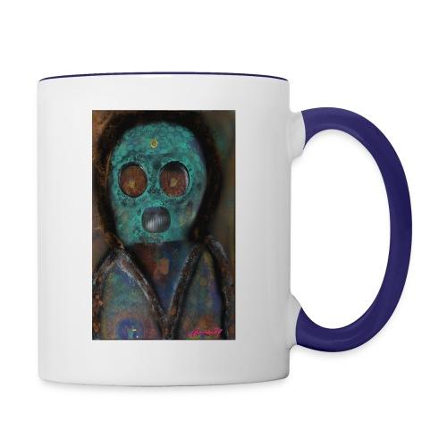 The galactic space monkey - Contrast Coffee Mug