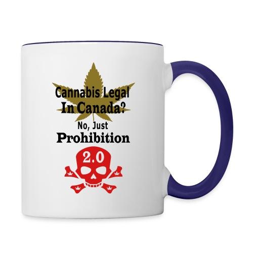 prohibition - Contrast Coffee Mug